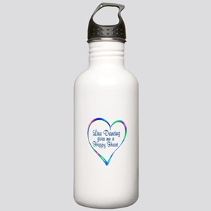 Line Dancing Happy Hea Stainless Water Bottle 1.0L