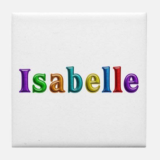 Isabelle Shiny Colors Tile Coaster