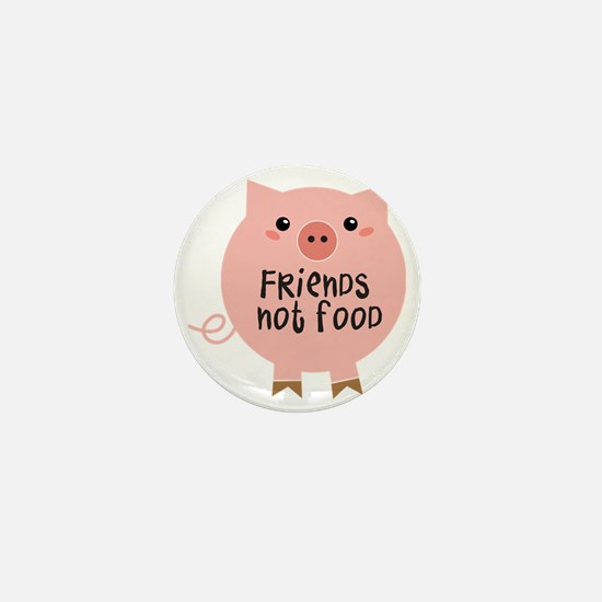 friends not food Mini Button