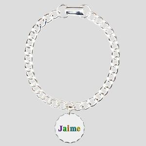 Jaime Shiny Colors Charm Bracelet