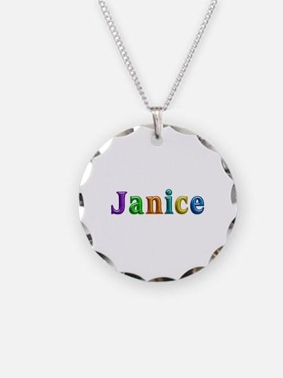 Janice Shiny Colors Necklace