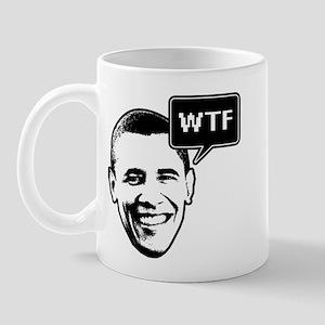 Barack Obama WTF Mug