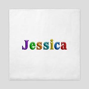 Jessica Shiny Colors Queen Duvet