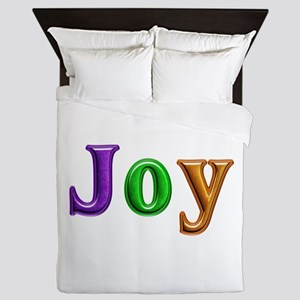 Joy Shiny Colors Queen Duvet