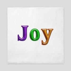 Joy Shiny Colors Queen Duvet