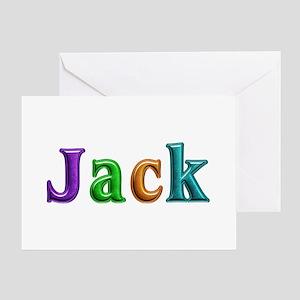 Jack Shiny Colors Greeting Card