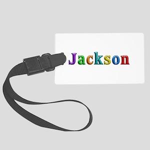 Jackson Shiny Colors Large Luggage Tag