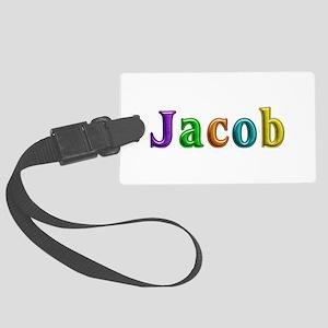 Jacob Shiny Colors Large Luggage Tag