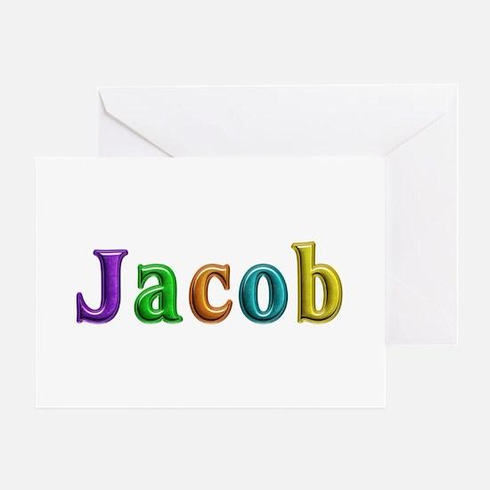 Jacob Shiny Colors Greeting Card