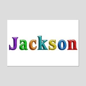 Jackson Shiny Colors Mini Poster Print