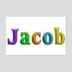 Jacob Shiny Colors Mini Poster Print
