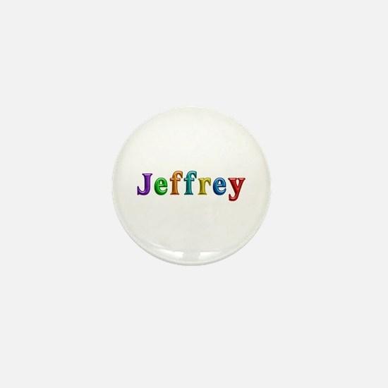 Jeffrey Shiny Colors Mini Button