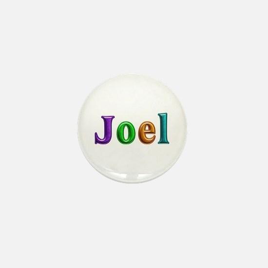 Joel Shiny Colors Mini Button