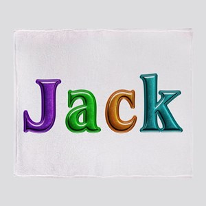 Jack Shiny Colors Throw Blanket
