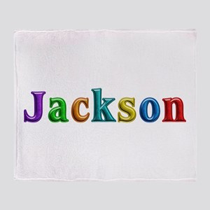 Jackson Shiny Colors Throw Blanket