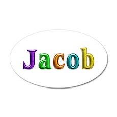 Jacob Shiny Colors Wall Sticker