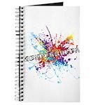 Rainbow Splash Genderqueer Journal