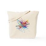 Rainbow Splash Genderqueer Tote Bag