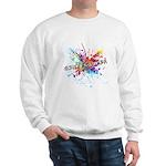 Rainbow Splash Genderqueer Sweatshirt