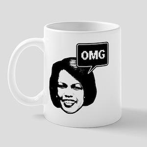 Condi Rice OMG Mug