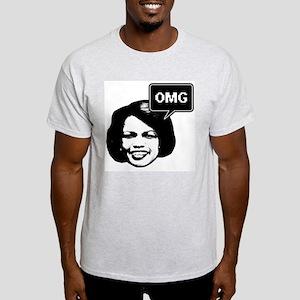 Condi Rice OMG Ash Grey T-Shirt