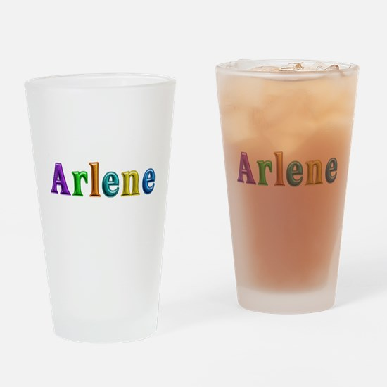 Arlene Shiny Colors Drinking Glass