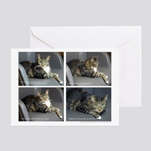 CATOGRAPHY - white border Greeting Card