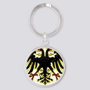 Banner of the Holy Roman Empire Round Keychain