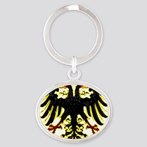 Banner of the Holy Roman Empire Oval Keychain