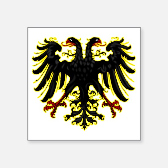 "Banner of the Holy Roman Em Square Sticker 3"" x 3"""