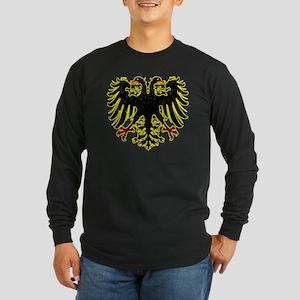 Banner of the Holy Roman  Long Sleeve Dark T-Shirt