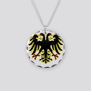 Banner of the Holy Roman Emp Necklace Circle Charm