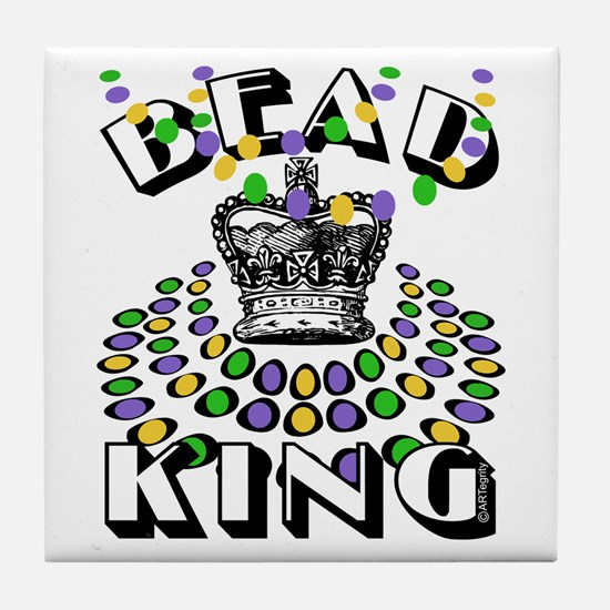 Bead King Tile Coaster