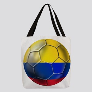 Colombia Soccer Ball Polyester Tote Bag