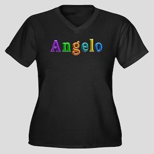 Angelo Shiny Colors Plus Size T-Shirt