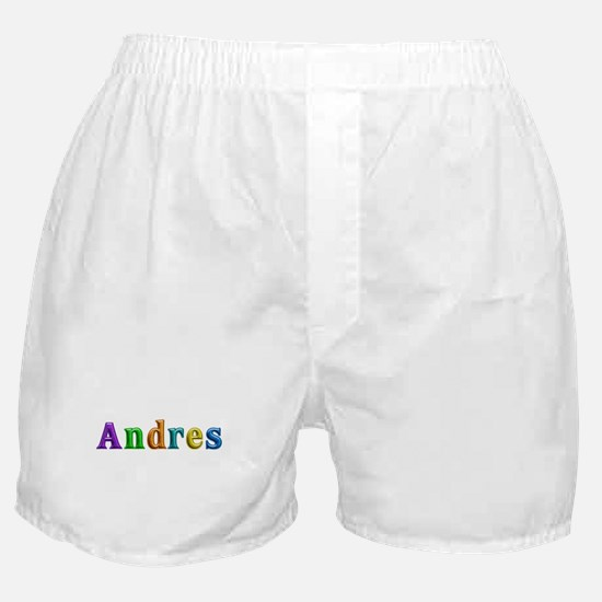 Andres Shiny Colors Boxer Shorts