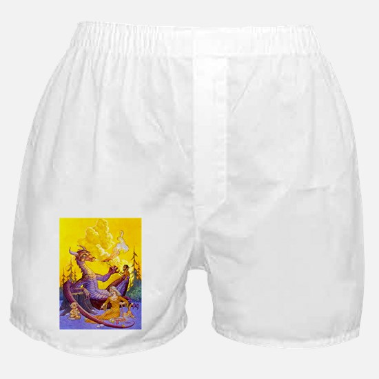 Dragon Cookout Boxer Shorts