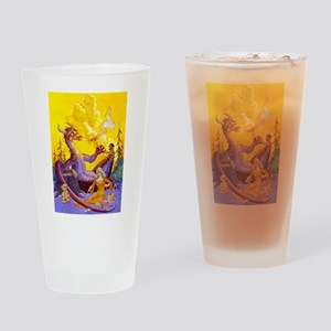 Dragon Cookout Drinking Glass