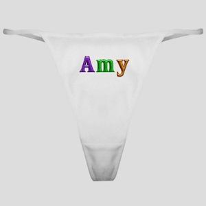 Amy Shiny Colors Classic Thong
