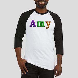 Amy Shiny Colors Baseball Jersey