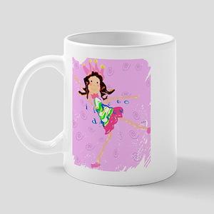 Sweet Ballerina Dancer Mug