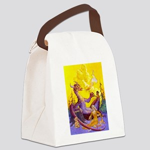 Dragon Cookout Canvas Lunch Bag