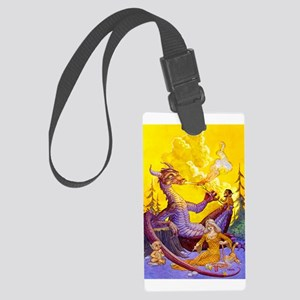 Dragon Cookout Large Luggage Tag