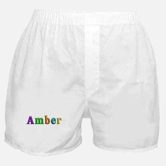 Amber Shiny Colors Boxer Shorts