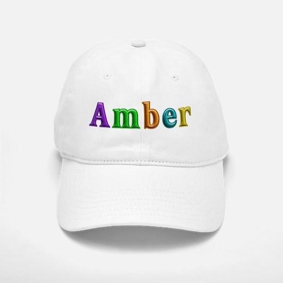Amber Shiny Colors Baseball Baseball Baseball Cap