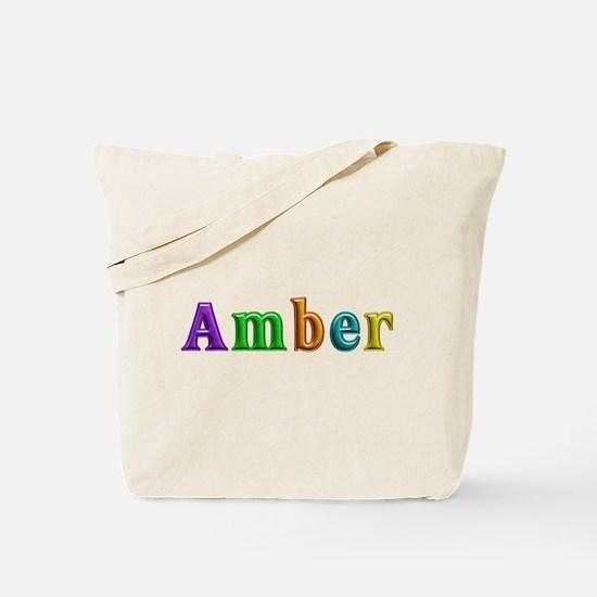 Amber Shiny Colors Tote Bag