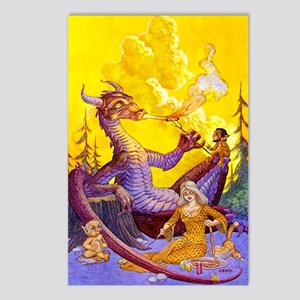 Dragon Cookout Postcards (Package of 8)