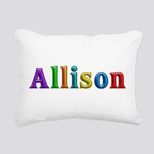 Allison Shiny Colors Rectangular Canvas Pillow