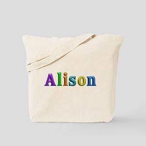 Alison Shiny Colors Tote Bag