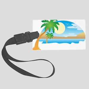 Summer - Vacation Luggage Tag